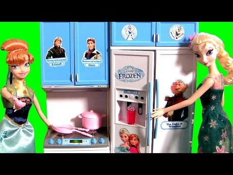 Princess Anna Birthday Present Luxury Kitchen Refrigerator Freezer