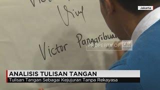 Melihat Karakter Orang Melalui Tulisan Tangan