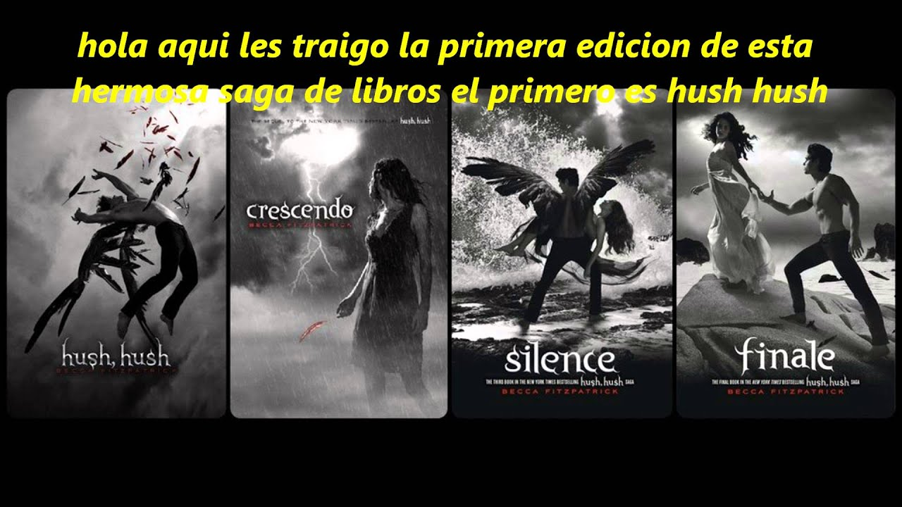 Descargar Hush Hush Primera Edicion En Pdf Youtube