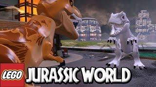 LEGO Jurassic World | #20 BATALHA FINAL TIRANOSSAURO REX VS INDOMINUS REX