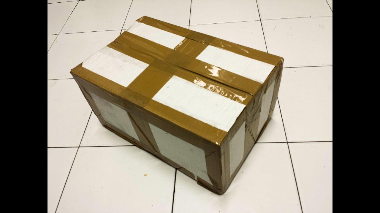 Como reforzar una caja de cartón frágil en resistente y