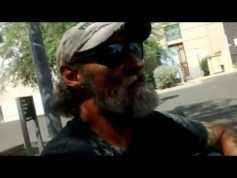 I Woke Up to the Phoenix PD | Old Homeless Guy vlog