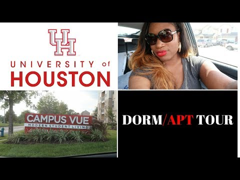 University of Houston Dorm|Apartment Tour