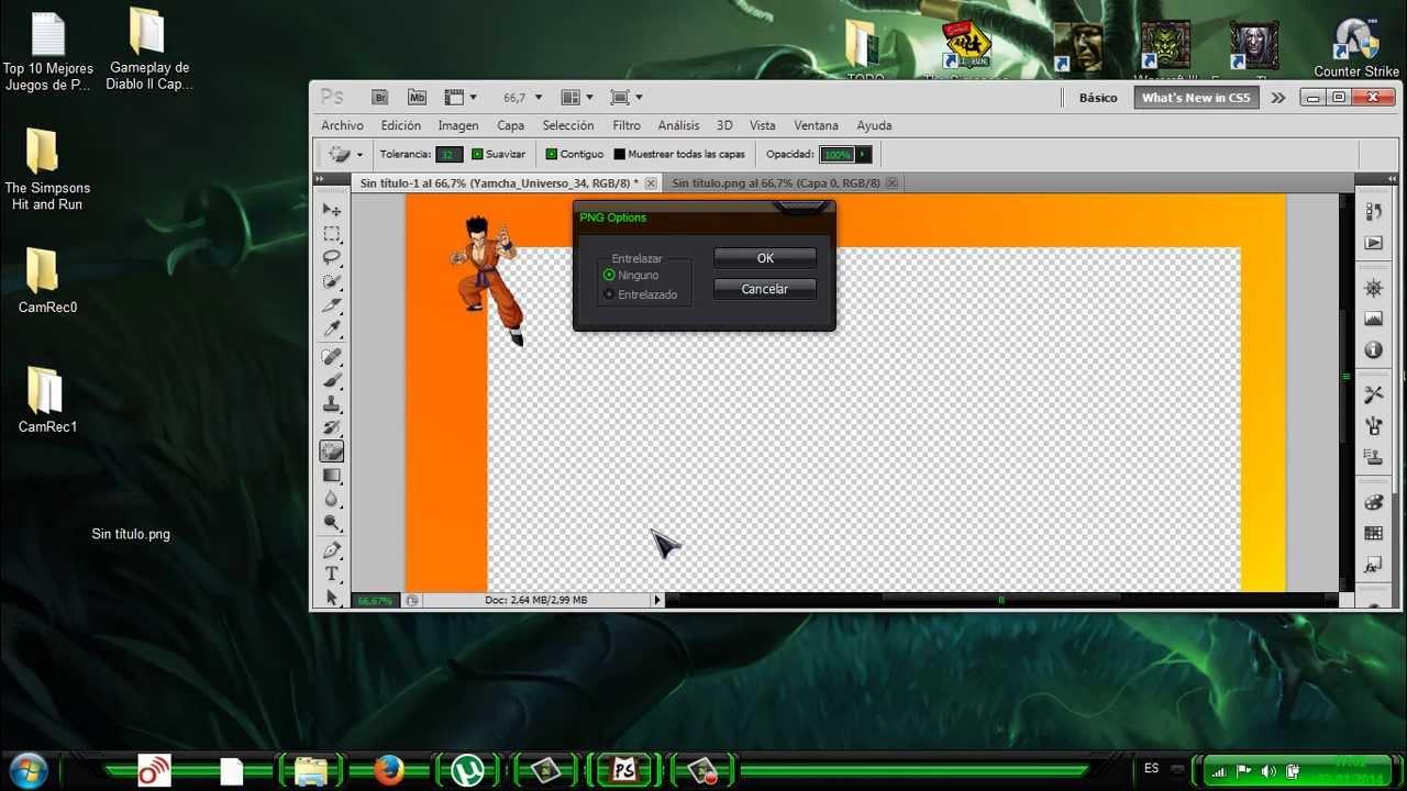 Descargar Photoshop CS5 y Crear Marco Para Videos - YouTube