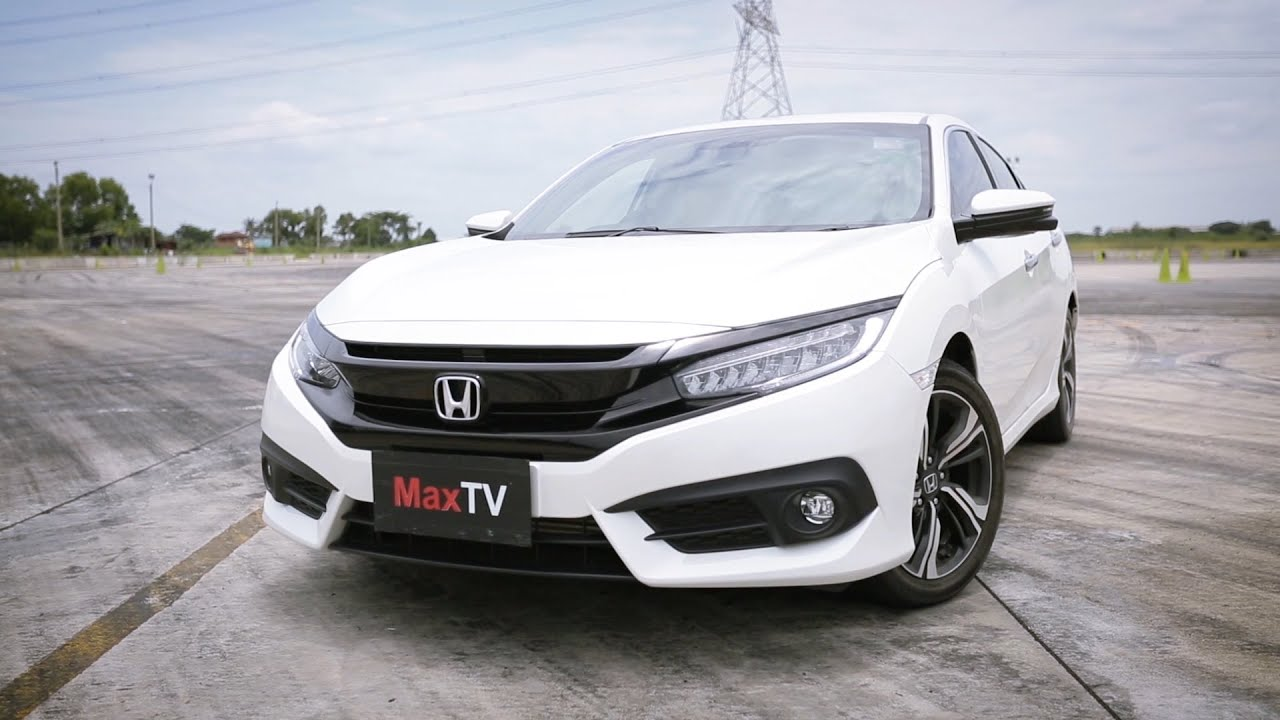 Test Drive All New Honda Civic 2016 1.5 Turbo RS By MaxTV / 27 AUG 2016
