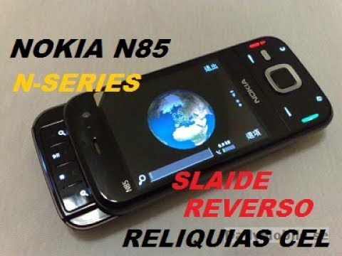 CELULAR NOKIA N85 3G LINHA N-SERIES SLAIDE REVERSO FLASH DUPLO RELIQUIAS DO CELULAR 2017
