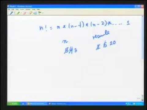 Lec 1 - Introduction To Problem Solving and Programming