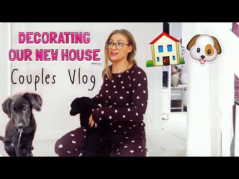 DECORATING OUR NEW HOUSE! | Couples Vlog