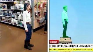 Yodeling Walmart Boy Meme Compilation (Funny Compilation)