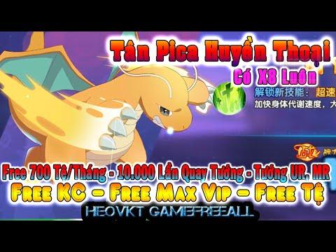 GAME 944: Tân Pica Huyền Thoại Lậu (Android,PC) | Free KC – Vip – Free 700 Tệ/Tháng – Tướng [HeoVKT]