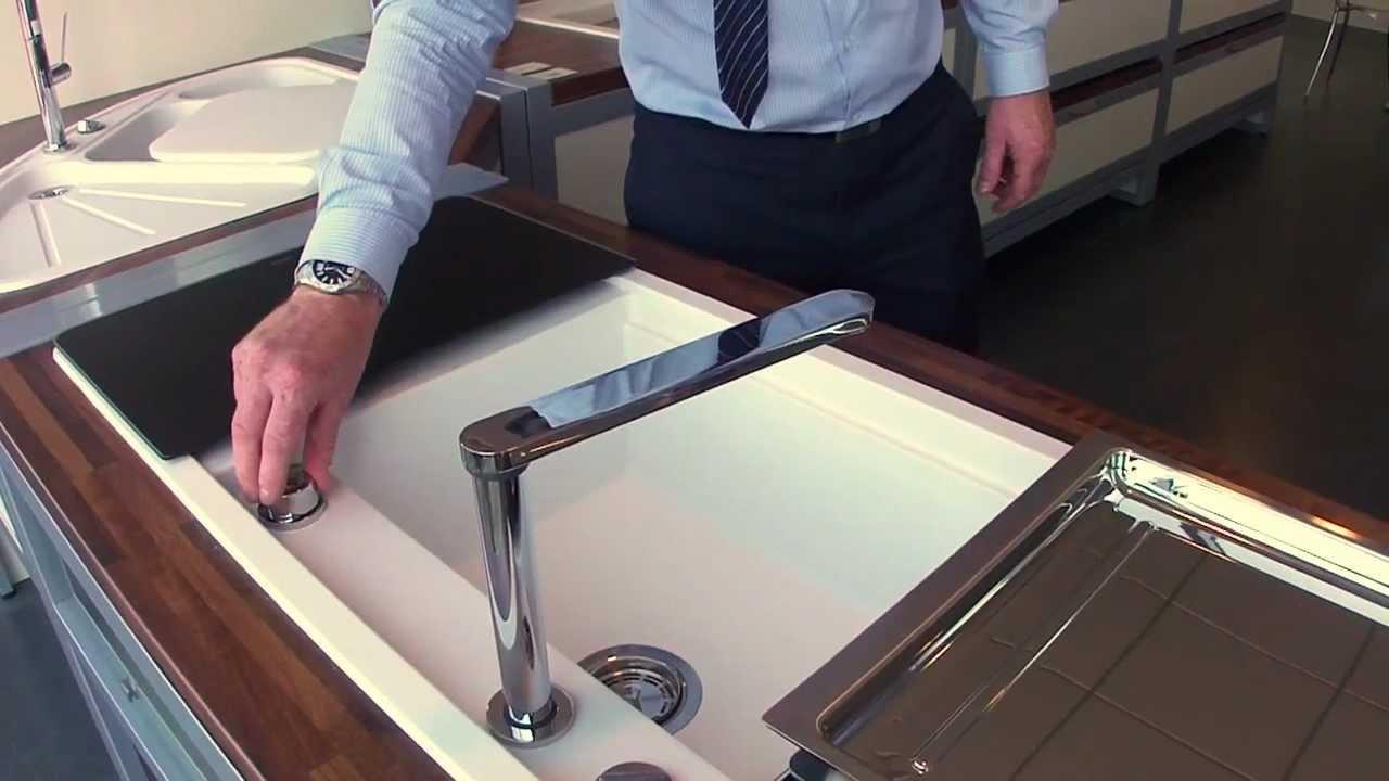 Blanco Kitchen Sink Ikea Backsplash Eloscope Tap Demo At Uk Hq - Youtube
