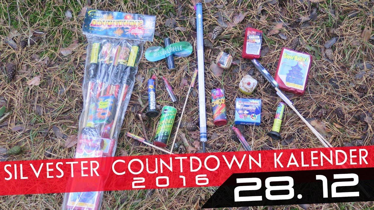 Silvester Countdown Kalender - 28. Dezember *HD* - YouTube