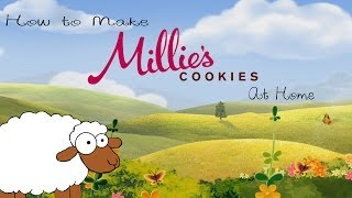 This Video Previously Contained A Copyrighted Audio Track. Due To A Claim By A Copyright Holder, The Audio Track Has Been Muted.     How To Make Millie's Choc Chip Cookies At Home