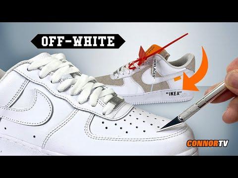 Air force 1 x off white custom   air force 1 cartoon custom