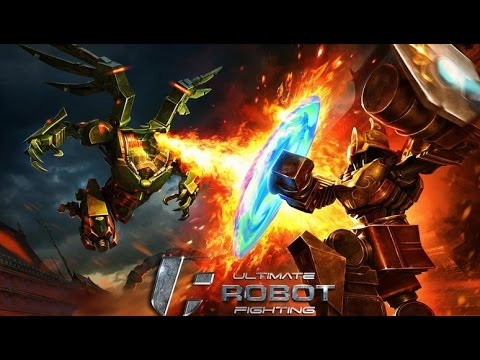 Ultimate Robot Fighting -  Битвы роботов на Android(Review)