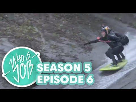 SUPsquatch & Super Slides | Who is JOB 6.0: S5E6