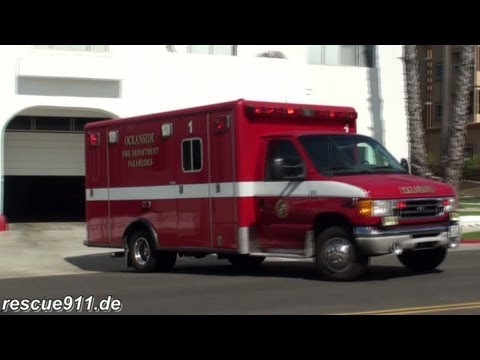 Ambulance 1 Oceanside Fire department