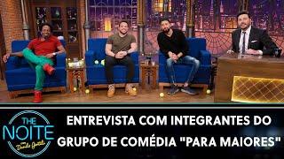 Entrevista com comediantes Guto Andrade, Kedny Silva e Flávio Andrade | The Noite (30/07/21)