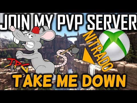 Take Me Down If You Can Ark PVP Xb1 - join my server