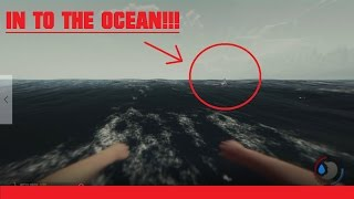 The Forest Pt-3 IN TO THE OCEAN!