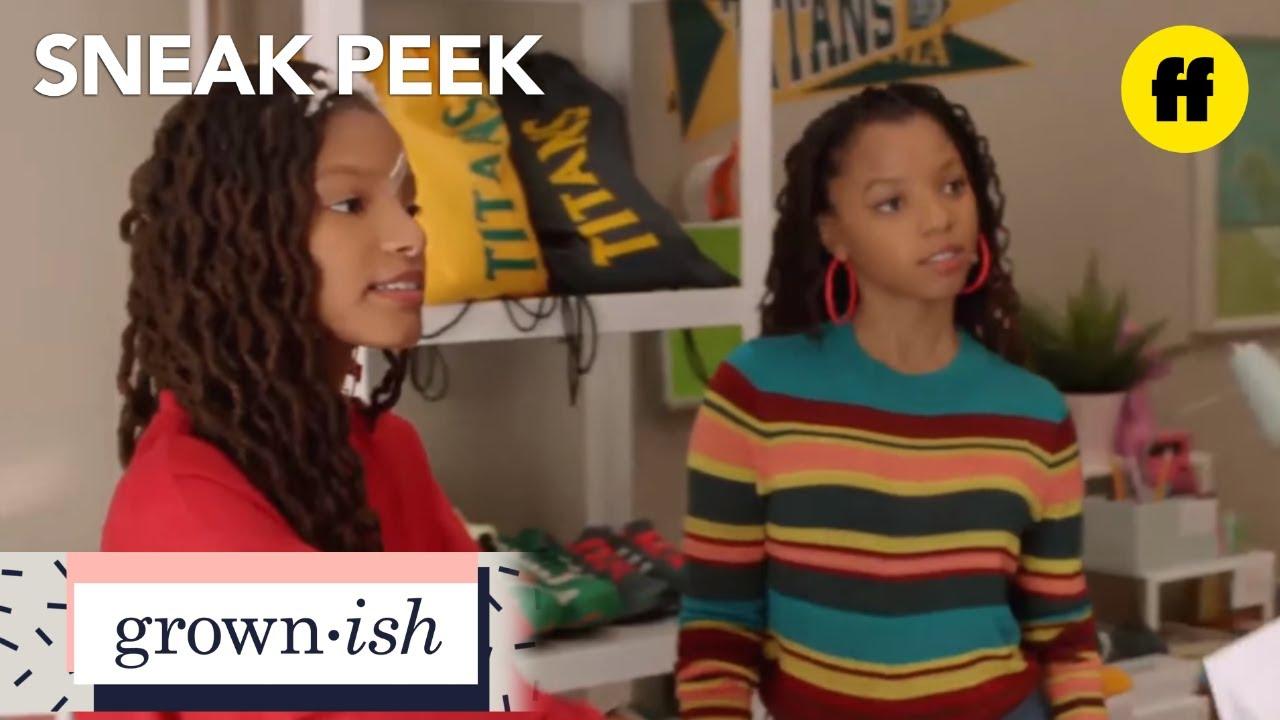 Download grown-ish   season 1, episode 6 sneak peek: we found our hustle   freeform