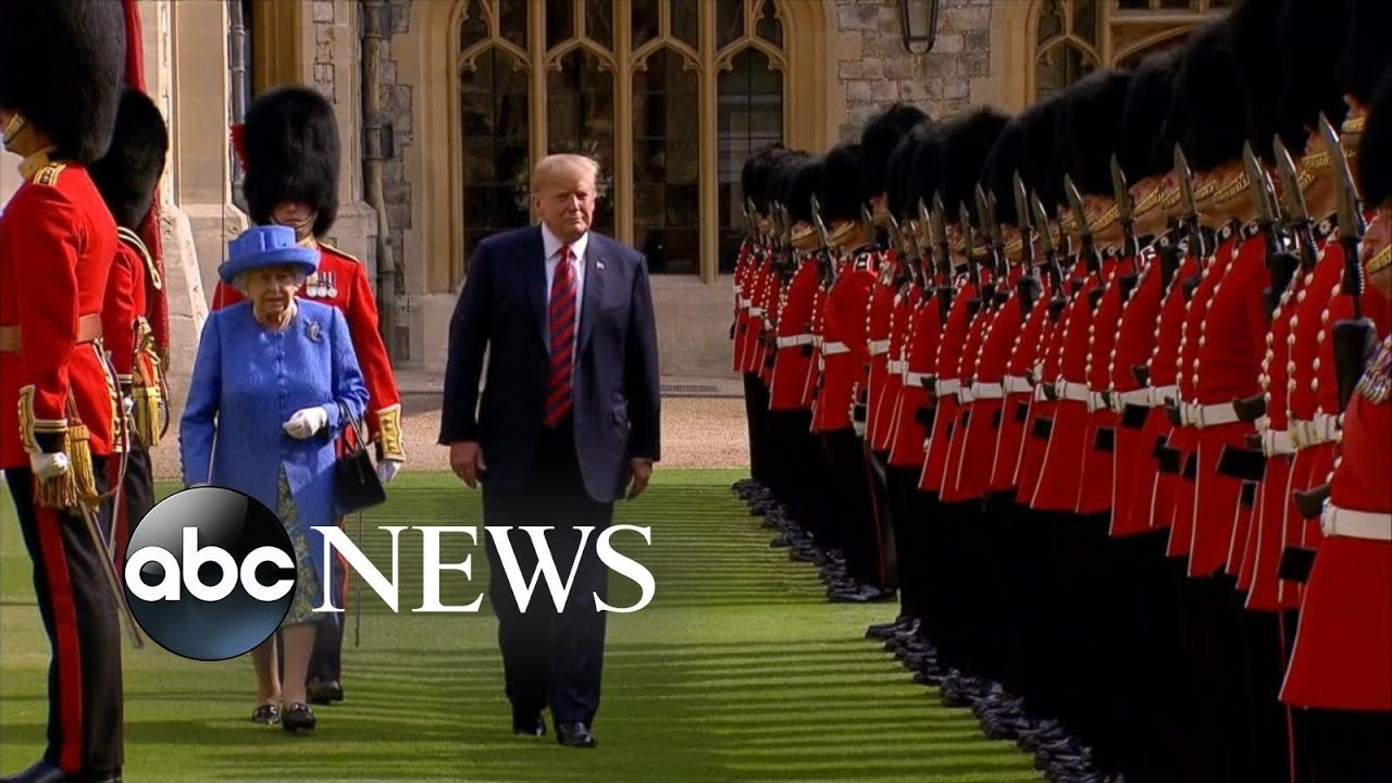 Trump becomes the 12th US president to meet Queen Elizabeth