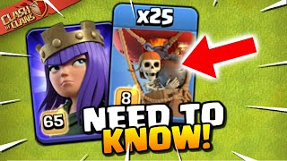 OP Strategy Rules them All: Queen Charge LavaLoon is the Best TH12 Attack Strategy (Clash of Clans)