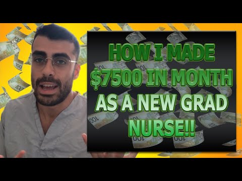 Nursing Salary In Canada 2019/2020 -- How I Made $7500 In ONE Month As A RN!