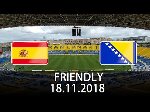 Spain vs Bosnia & Herzegovina - International Friendly - PES 2019