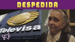 Televisa Corre a Ana Martín