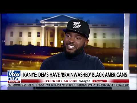Zuby on Tucker Carlson Tonight - Kanye West, Culture & Free Thinking