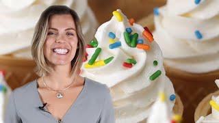 Betsy's Neapolitan Ice-Cream Cone Cupcakes • Tasty