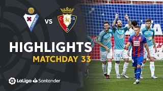 Highlights SD Eibar vs CA Osasuna (0-2)