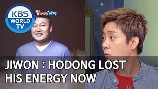 Jiwon : Hodong lost his energy now [Happy Together/2020.02.13]