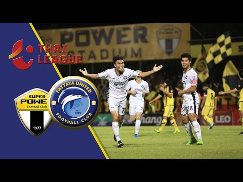 PUTDTV Match Highlight : Thai League 2017 :  Super Power Samutprakan 1 - 3 Pattaya United