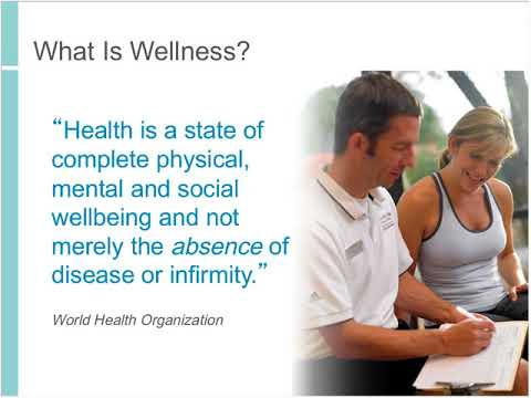 Where the Jobs Are: Opportunities in the 2 trillion dollar Wellness Economy (5/21/2013)