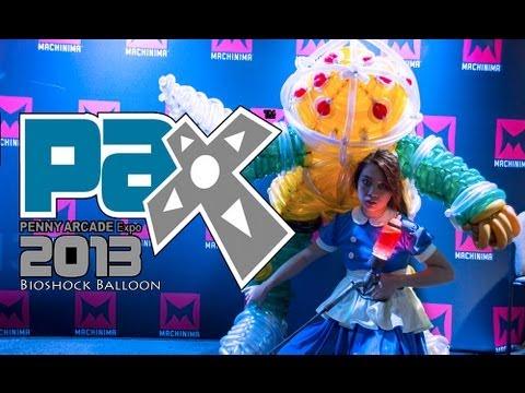 E Vlog #47: PAX PRIME 2013 & Balloon Cosplay Accessory!