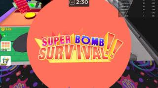 ROBLOX with NTC boom feeding Game (Super Bomb Survival)