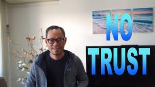 NO TRUST - Seri Renungan Murid Kristus 13 - Ps.Yosafat