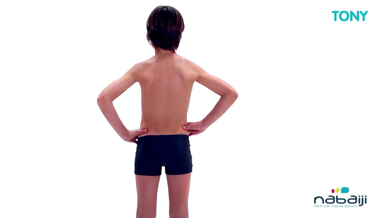 207a2d381 Sunga de natação Boxer B-Active infantil Nabaiji - Exclusividade Decathlon