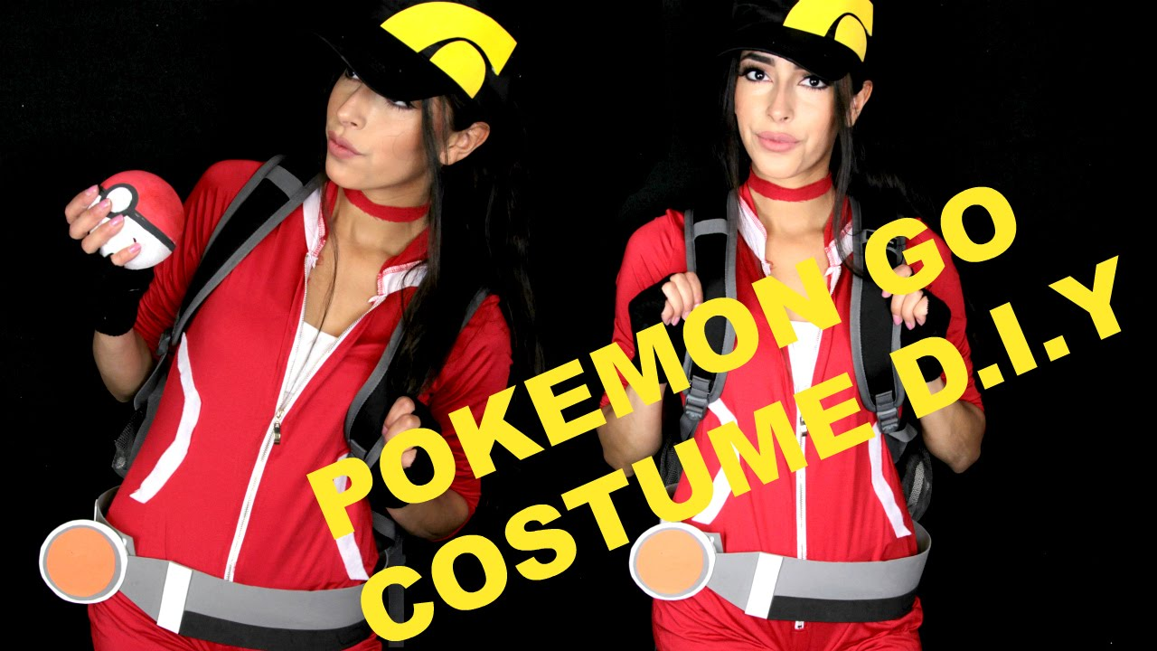 POKEMON GO HALLOWEEN COSTUME D.I.Y - YouTube
