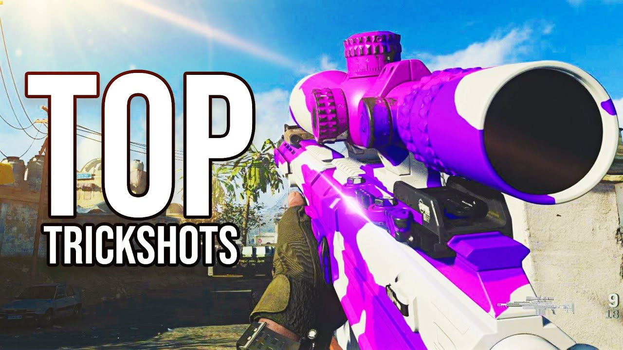 These Call of Duty Sniping and Trickshotting Clips are INSANE...