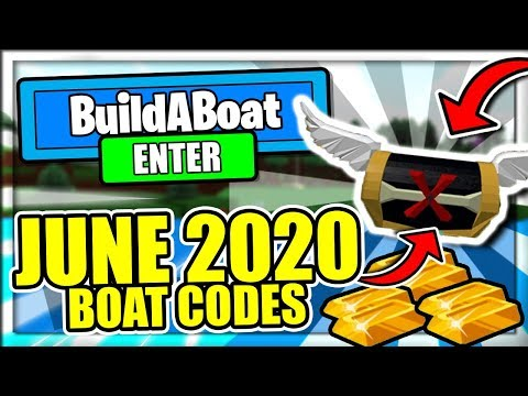 Build A Boat For Treasure Codes Roblox July 2020 Mejoress