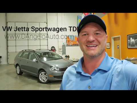 2012 VW Jetta Sportwagen TDI with RARE 6 Speed Manual