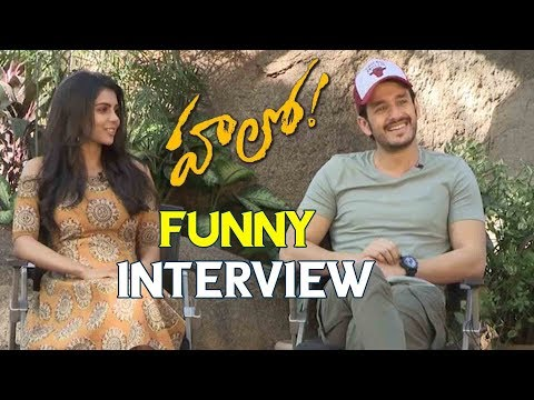 Hello Team Funny Interview | Akhil Kalyani Priyadarshan | Latest Telugu Cinema News
