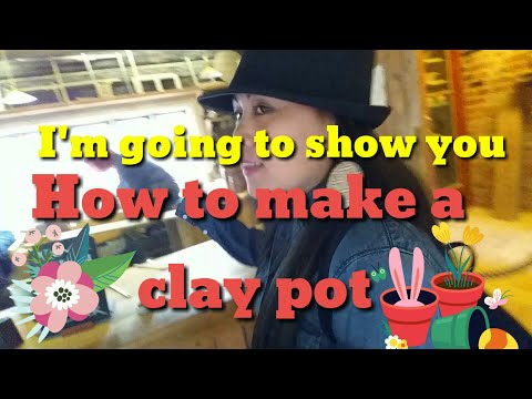 HOW TO MAKE A CLAY POT & The Old Bakery in Sweden