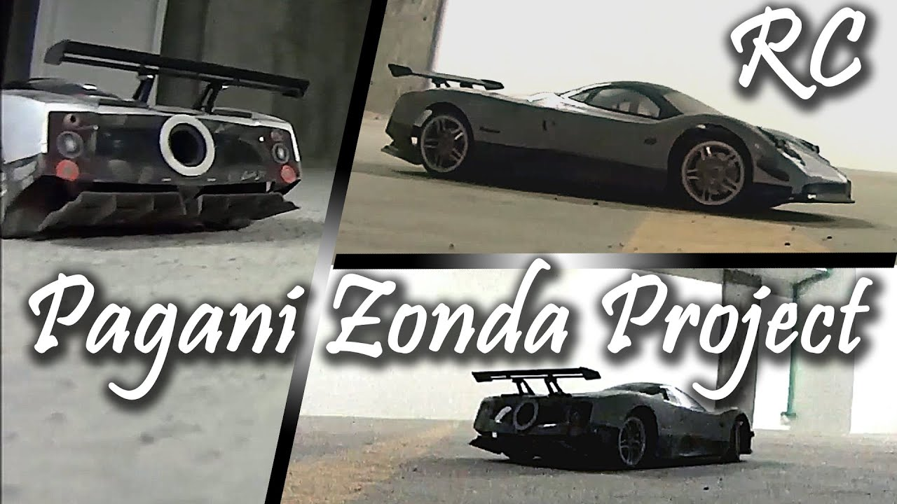 Real Rc Aerodynamics Custom Pagani Zonda R Rc Exotic