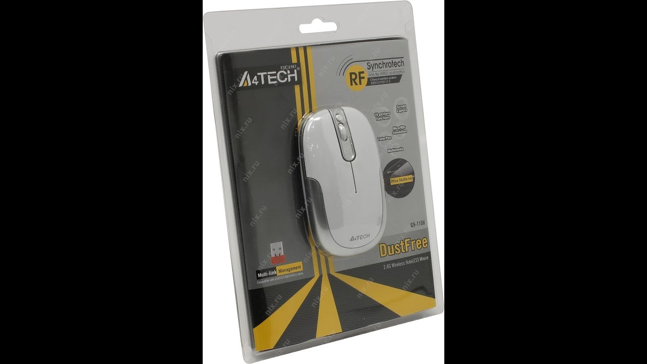 A4Tech G9-110H Mouse Download Drivers
