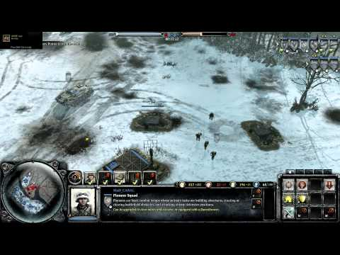 Company of Heroes 2 Theater of War Challenge Case Blue DLC Retreat At The Don on General difficulty