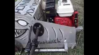 Winch session shark winch